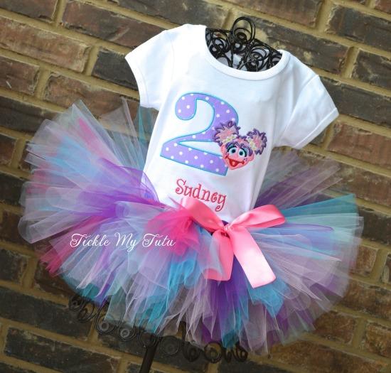 Abby Cadabby Birthday Tutu Outfit