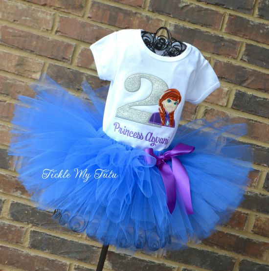 Anna Birthday Number Tutu Outfit