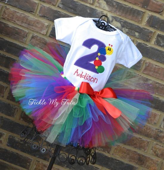 Baby Einstein Themed Birthday Tutu Outfit
