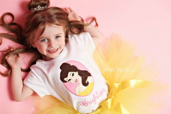 Belle Inspired Tutu Outfit