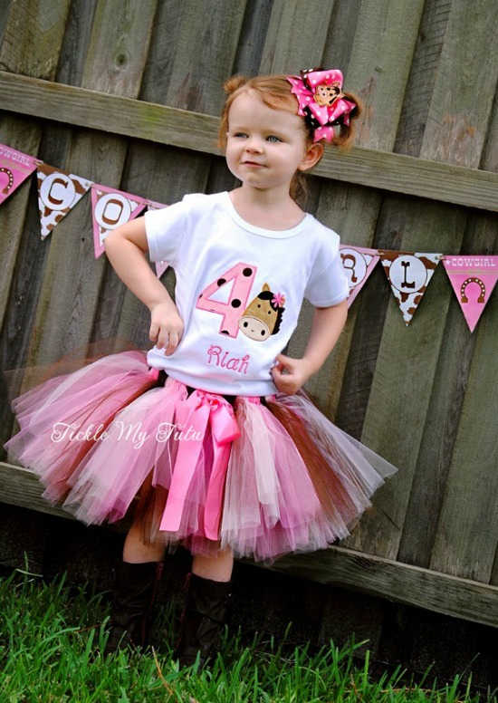 Birthday Horse Tutu Outfit