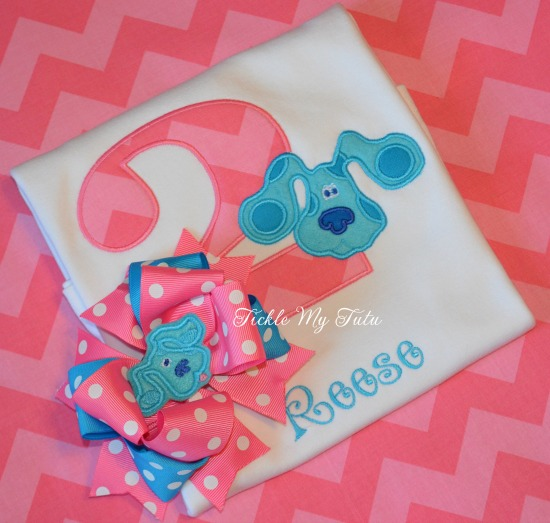 Blue's Clues Themed Birthday Tutu Outfit