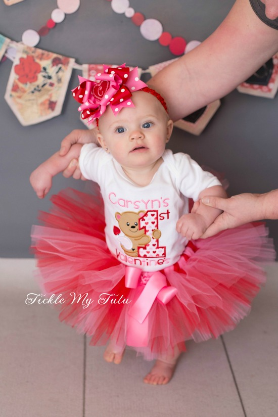 My First Valentine's Day Tutu Outfit (Carsyn)