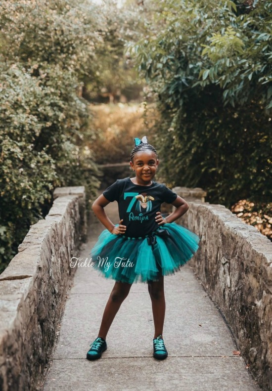 Descendants Uma Themed Birthday Tutu Outfit