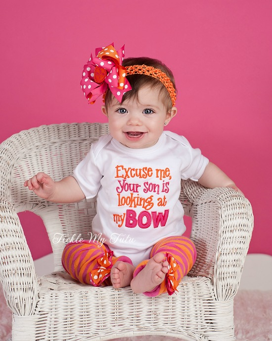 Excuse Me, Your Son is Looking at My Bow Shirt