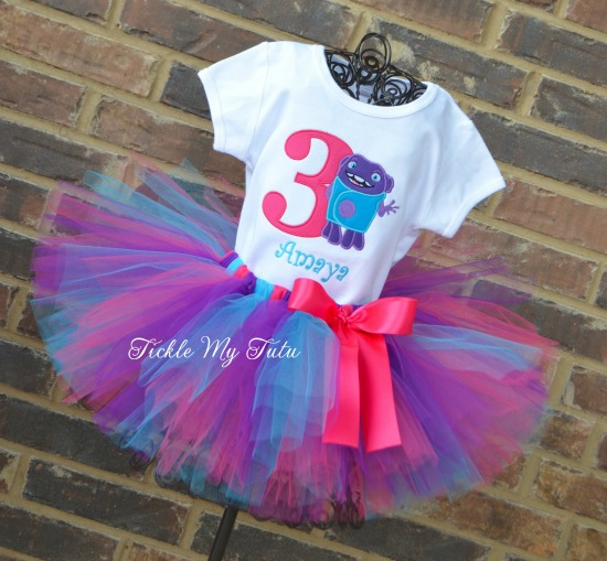 Home Themed Birthday Tutu Outfit