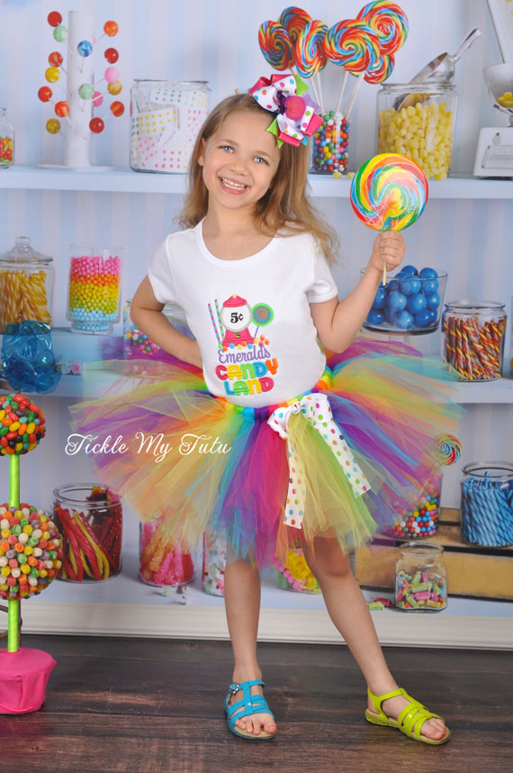 It's My Candy Party Birthday Tutu Outfit