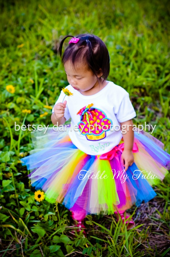 It's My Party Cupcake Birthday Tutu Outfit