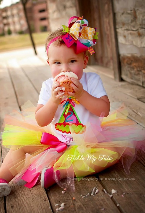 It's My Party Birthday Hat Tutu Outfit