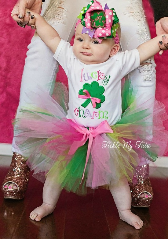 Lucky Charm St. Patrick's Day Tutu Set