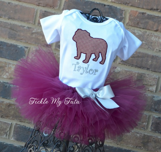 Mississippi State Bulldogs Tutu Outfit