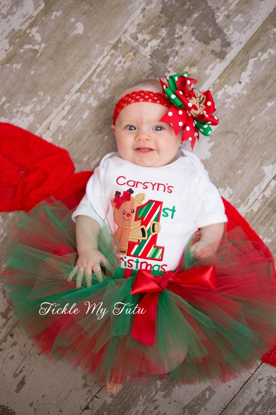 My First Christmas Tutu Outfit (Carsyn)