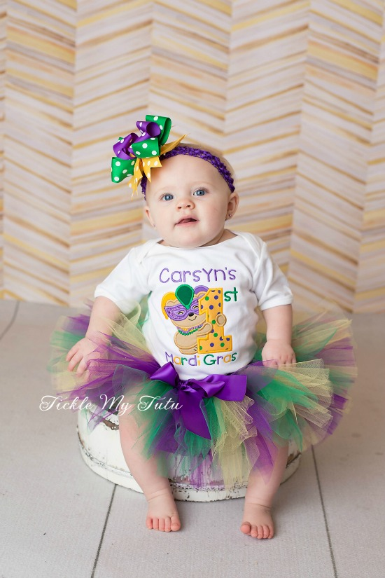 My First Mardi Gras Tutu Outfit