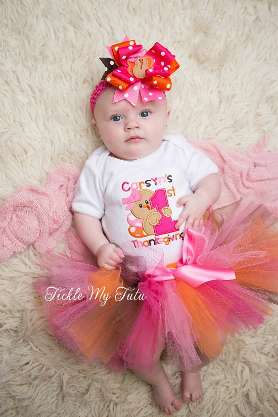 My First Thanksgiving Tutu Outfit (Carsyn)