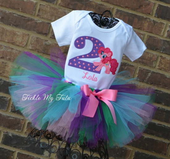 Pinkie Pie Birthday Tutu Outfit