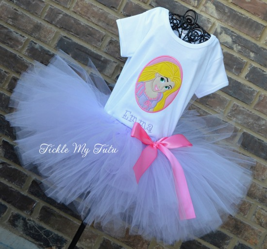Tangled Inspired Tutu Outfit