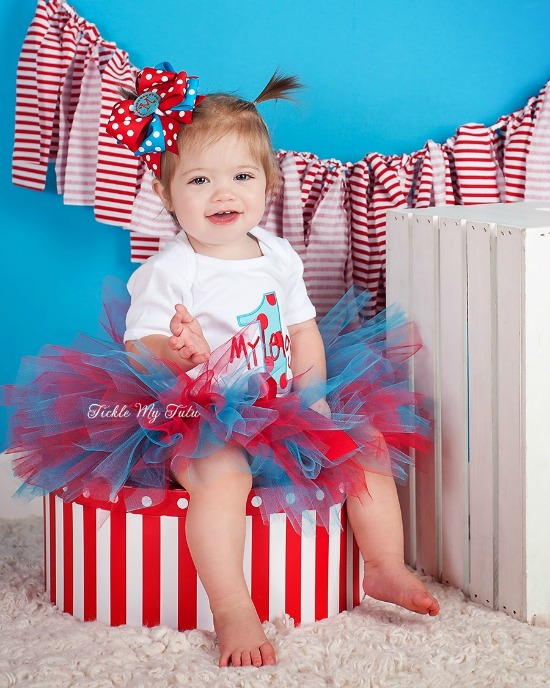 Silly Dot Birthday Tutu Outfit