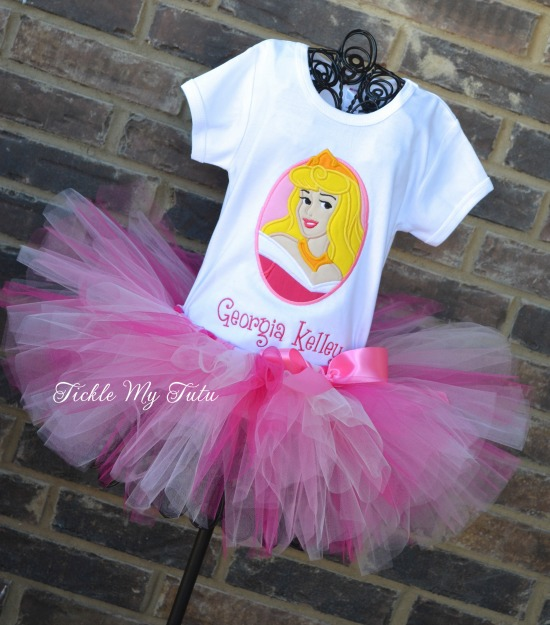 Sleeping Beauty Inspired Tutu Outfit