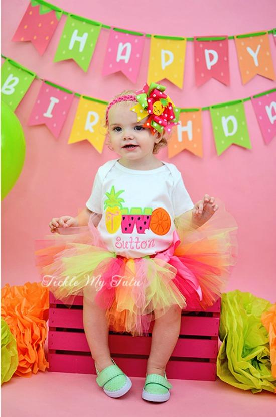TWOtti Frutti Birthday Tutu Outfit