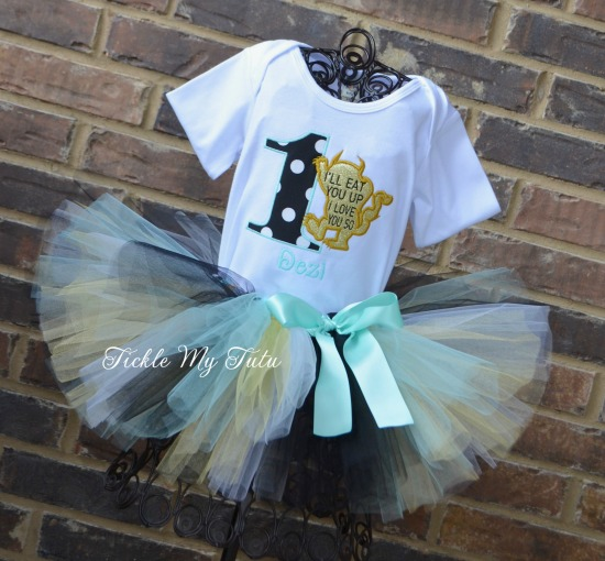 Where the Wild Things Are Birthday Tutu Outfit