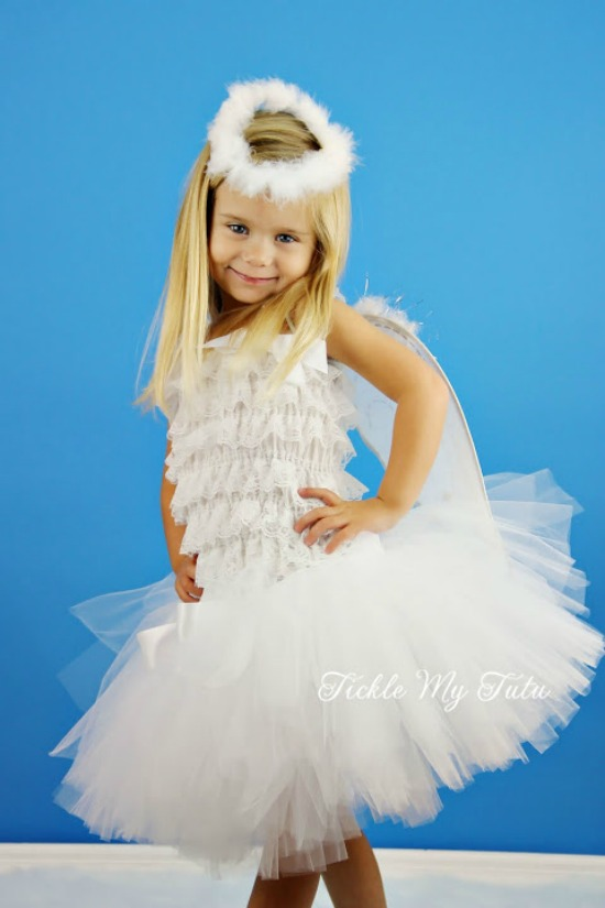 Angel 3 piece Tutu Costume