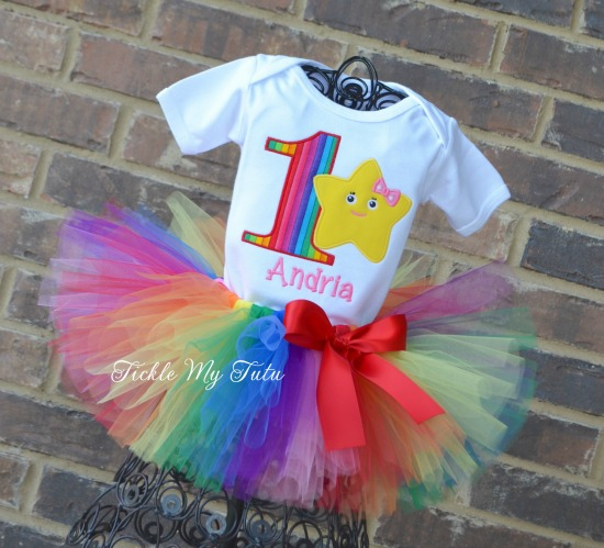 Little Baby Bum Birthday Tutu Outfit