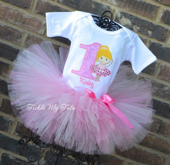 Prima Ballerina Birthday Tutu Outfit
