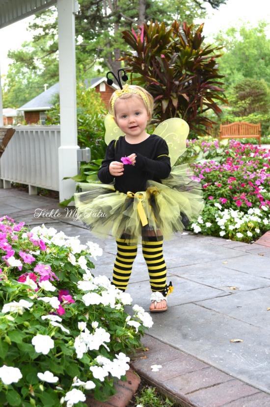 Lil' Bumblebee 4 PIECE Tutu Halloween Costume