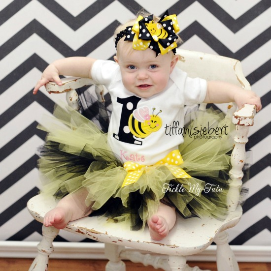It's My BEE-day Birthday Tutu Outfit