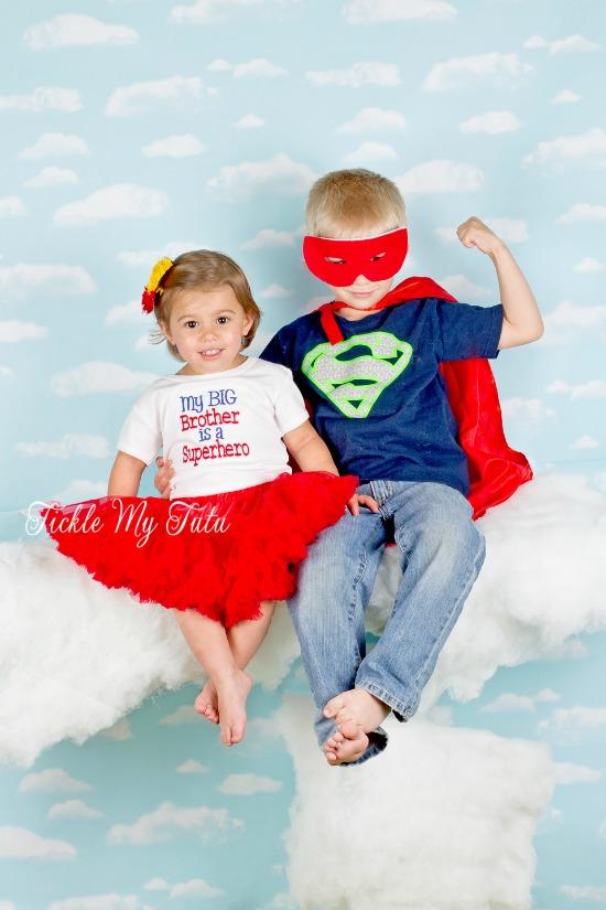 My Big Brother Is a Superhero Shirt