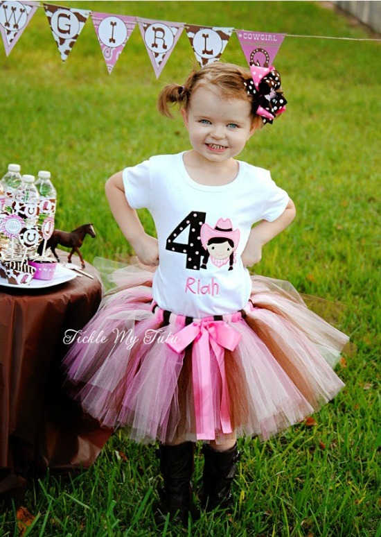 Birthday Cowgirl Tutu Outfit