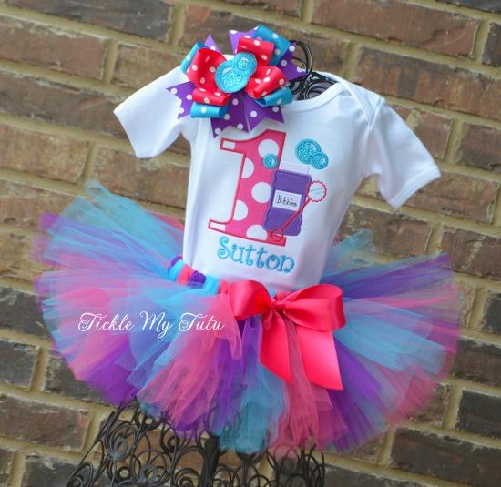 Bubble Bash Birthday Tutu Outfit