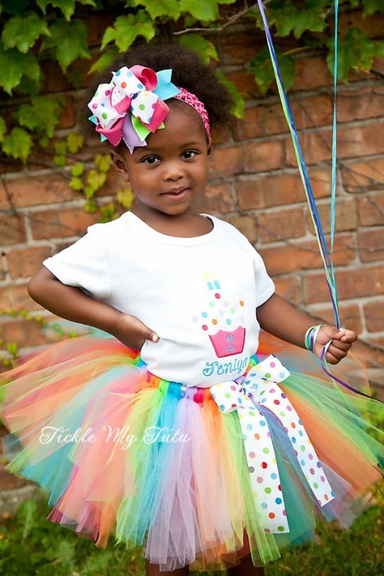 Cupcake Cutie Birthday Tutu Outfit