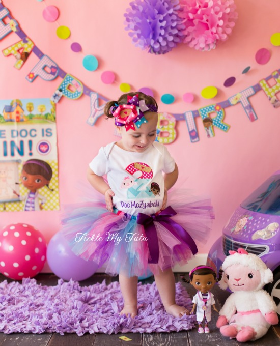 Doc McStuffins Band-Aid Number Birthday Tutu Outfit