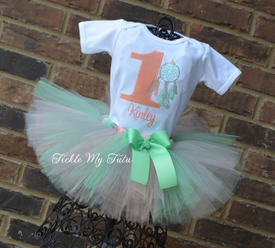 Dreamcatcher Birthday Tutu Outfit