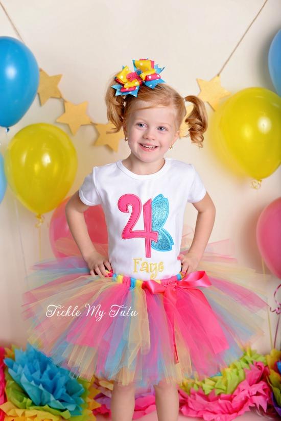Fairy Themed Birthday Tutu Outfit