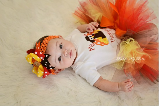 My First Thanksgiving Tutu Outfit (Scout)