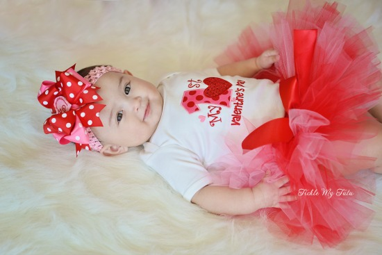 My First Valentine's Day Tutu Outfit (Scout)