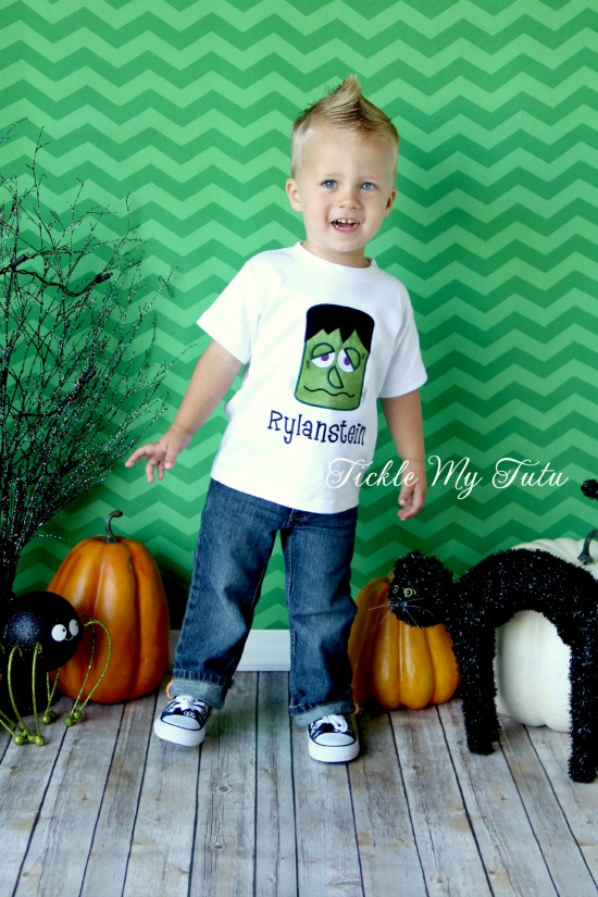 Frankenstein Halloween Boys Shirt