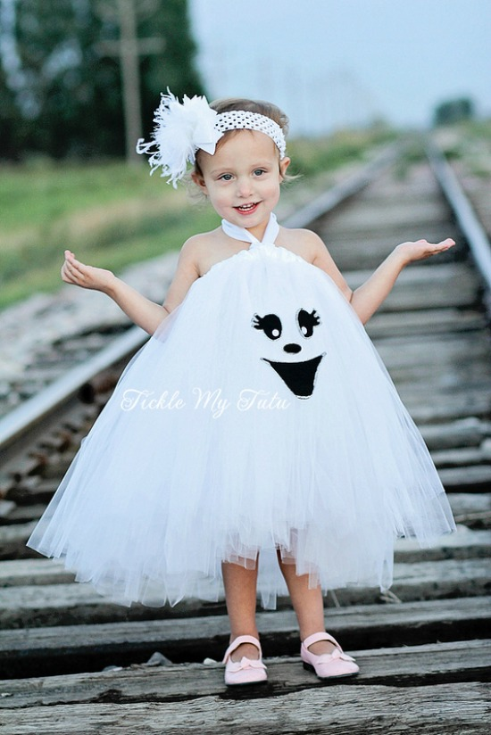 Gracie the Ghost Tutu Dress Halloween Costume
