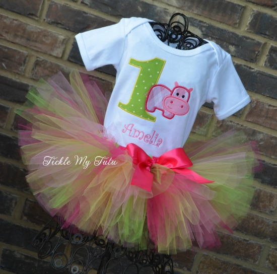 Hip Hippo-ray Birthday Tutu Outfit