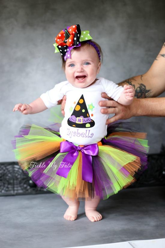 Hocus Pocus Witch Hat Halloween Tutu Outfit