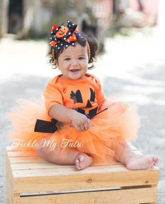 Little Pumpkin Halloween Tutu Costume