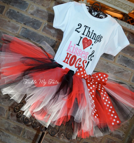 Arkansas Razorbacks Tutu Outfit