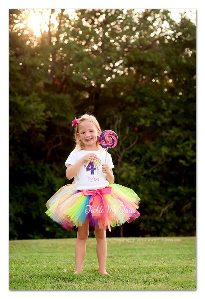 "Sweet Shoppe Candyland ""Kylnn"" Birthday Tutu Outfit"