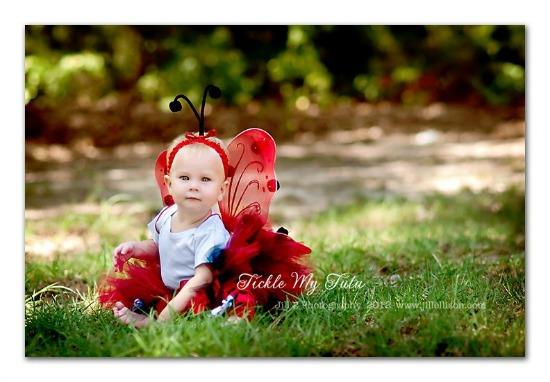 Lil' Ladybug 4 PIECE Tutu Halloween Costume