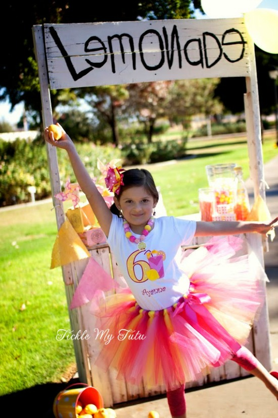 Pink Lemonade Birthday Tutu Outfit