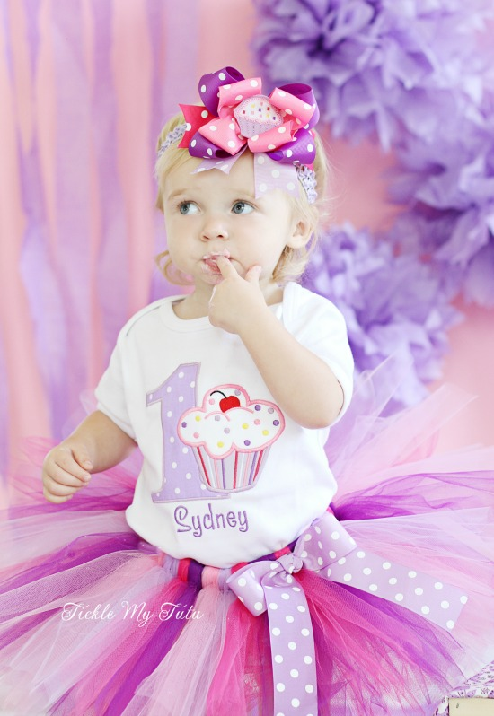 Lil' Cupcake Birthday Tutu Outfit