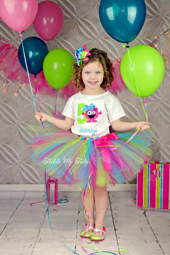 Monster Mash Birthday Tutu Outfit (Cessalye)