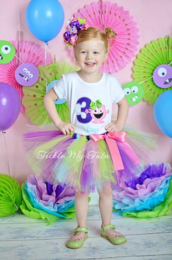 Monster Mash Birthday Tutu Outfit (Faye)